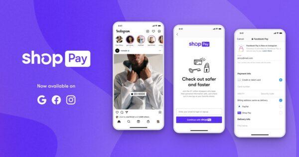 Shopifyのワンクリック決済「Shop Pay」がInstagram・Facebook・Googleに対応